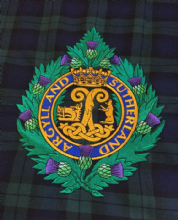Argyll's - Bagpipe Banner